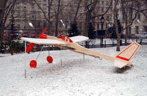 <FONT SIZE=2>Balsa Wood Airplanes: The Land That Time Forgot, 2001<I> by Art Domantay</i></FONT> <br> <FONT SIZE=2><I><P ALIGN=