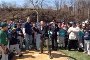First Pitch at Highbridge Park