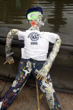 An entry from last year's Scarecrow Contest.