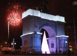Celebrate the New Year with fireworks at Grand Army Plaza!