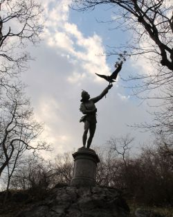 The Falconer, Central Park, December 31, 2011;