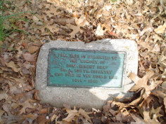 Corporal Robert Gray Tree Marker