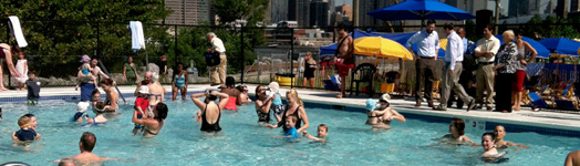 Brooklyn bridge park outdoor pools nyc parks for Indoor swimming pools in brooklyn