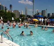 Brooklyn Bridge Park Pop-Up Pool