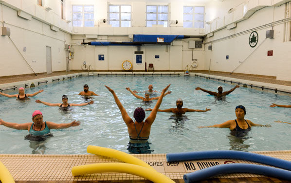 Best of new york city 39 s recreation centers nyc parks for Brooklyn college swimming pool membership