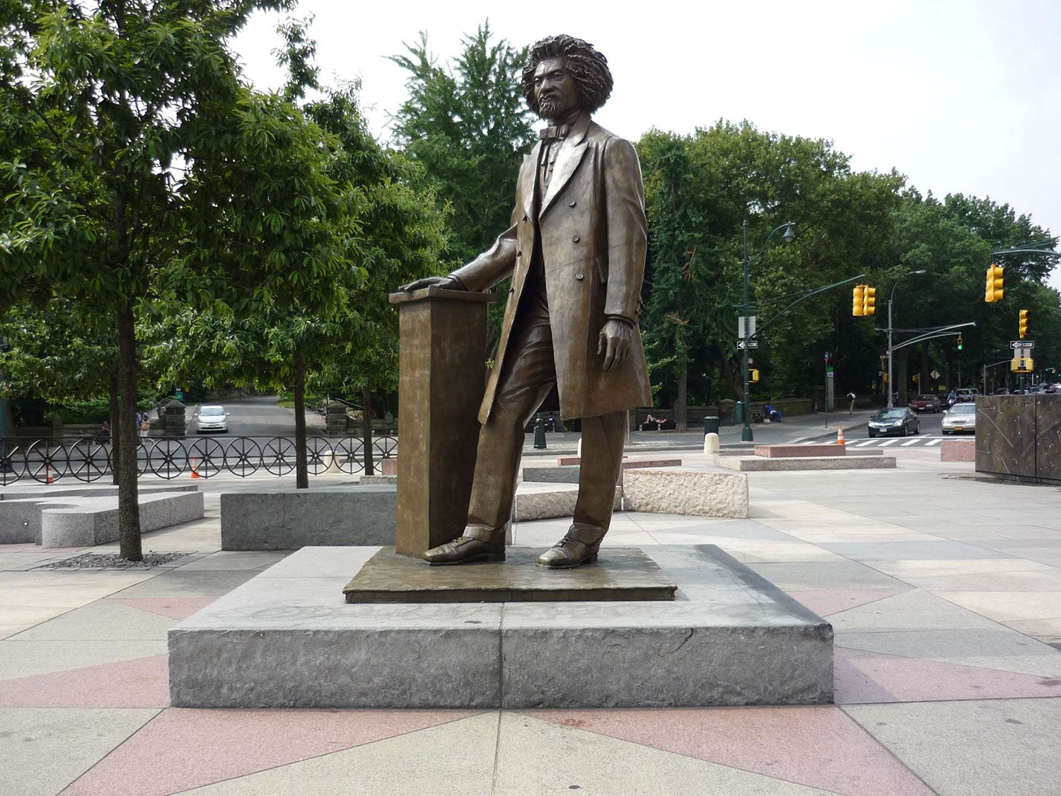 parks sculptures honoring the african american experience nyc parks. Black Bedroom Furniture Sets. Home Design Ideas