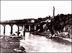 Photo of The High Bridge and High Bridge Tower, ca. 1895