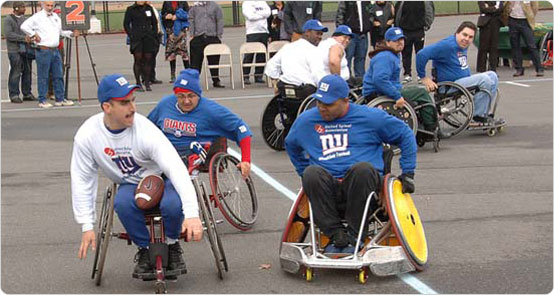 November 16, 2006 wheelchair football in Forest Park
