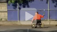 Watch an It?s My Park segment about wheelchair softball.