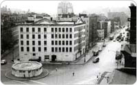 Henry I. Stetler Warehouse and Comfort Station, Bird?s-Eye View South at Bleecker and Hudson Streets