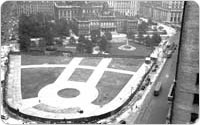 Aerial view, 1939, New York City Parks Photo Archive