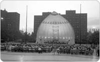 Damrosch Park, Goldman Concert, 1969, New York City Parks Photo Archive