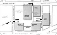 Lincoln Center, Underground Parking Plan, 1964, New York City Parks Photo Archive