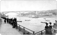 Boat Club Parade, Harlem River, 1902, Benjamin J. Falk, Library of Congress