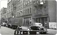 LaGuardia Place, east side between Bleecker Street and Houston (Block 524, Lot 5), 1939, Courtesy New York City Municipal Archives