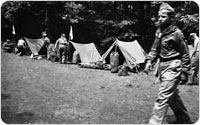 Boy Scout Camporee, 1946, courtesy of Ten Mile River Scout Museum