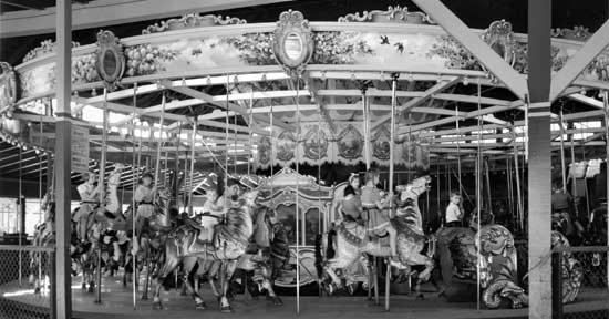 Carousel Food Concession, Forest Park, QueensSeptember 15, 1940, Max Ulrich/New York City Parks