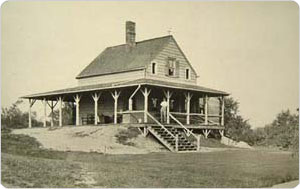 Golf Club House, Forest Park, Queens, Circa 1902, New York City Parks Photo Archive