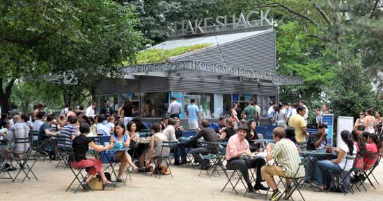 Madison Square Park's Shake Shack