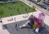 image of PlaNYC Schoolyards to Playgrounds initiatives