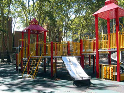Photograph of Al Smith Playground