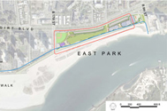The east and west phases of the Rockaway PlaNYC regional park project