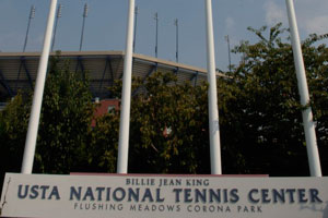image of USTA national tennis center