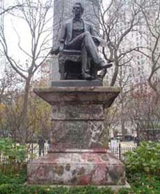 William Henry Seward statue, Madison Square Park, Manhattan