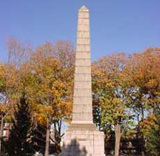 Dover Patrol monument in Brooklyn