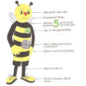 Mascot Finalist: Borough Bee