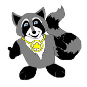 Mascot Finalist: Rocco the Raccoon