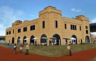 Rendering of the Former Powerhouse Building