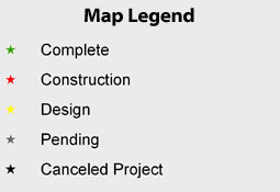 Leyend Croton Mitigation Projects Status