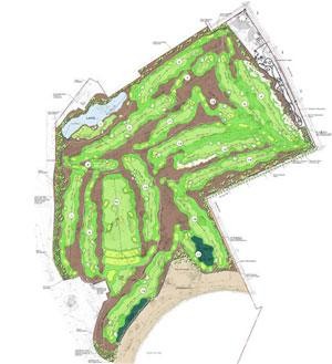 Ferry Point Park Golf Course Plan