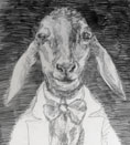 Bureaucratic Goat, by Richie Lasansky