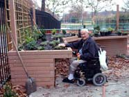 wheelchair accessible garden