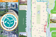 Manhattan Waterfront Greenway Map and Brochure PDF