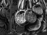 Image of NYC Marathon medals