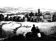 Illustration of Central Park area circa 1857
