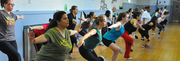 Shape Up NYC class