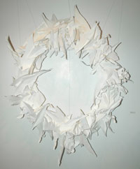 "Photo of ""Paper Wreath"" by Katy Guimond"