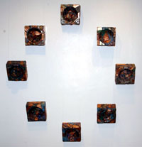 "Photo of ""8 Squared Circles"" by Linda Stein"