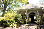 New Leaf Cafe, Fort Tryon Park, Manhattan