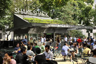Shake Shack, Madison Square Park, Manhattan