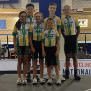 The 2014 Star Track Team at the USA Cycling Juniors Track National Championships
