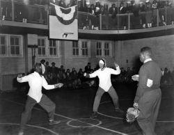 Fencing Contest, Hansborough Recreation Center
