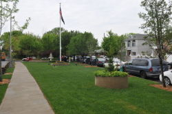 Locust Grove Civic triangle, May 3, 2010
