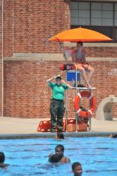 Staying Safe at Lyons Pool