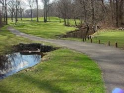 Latourette Golf Course - stream