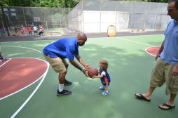Van Cortlandt Park Court of Dreams Ribbon Cutting